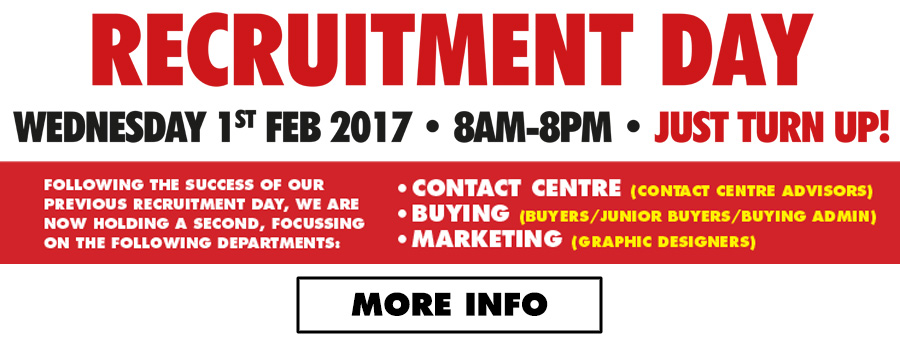 ITS Recruitment Day Banner