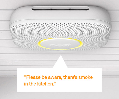 Nest Protect tells you where