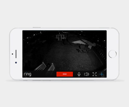 Ring doorbell night vision