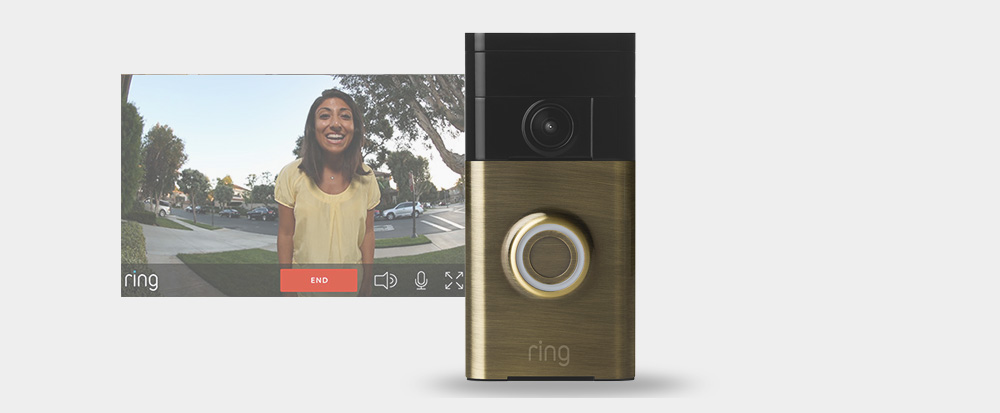 Ring doorbell live streaming