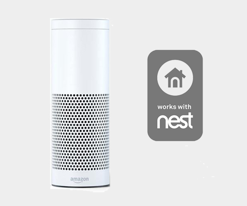 Works with Nest and Works with Amazon Alexa