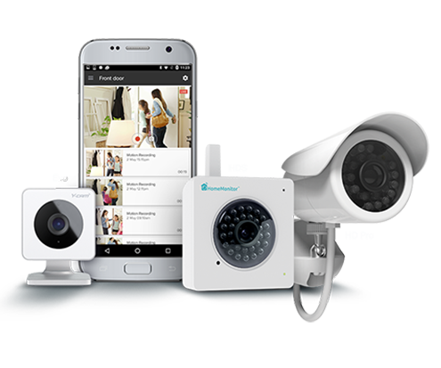 Y Cam Smart Security CCTV Cameras