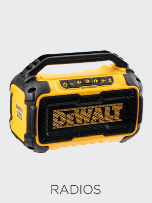 Kit Builder Dewalt Radios