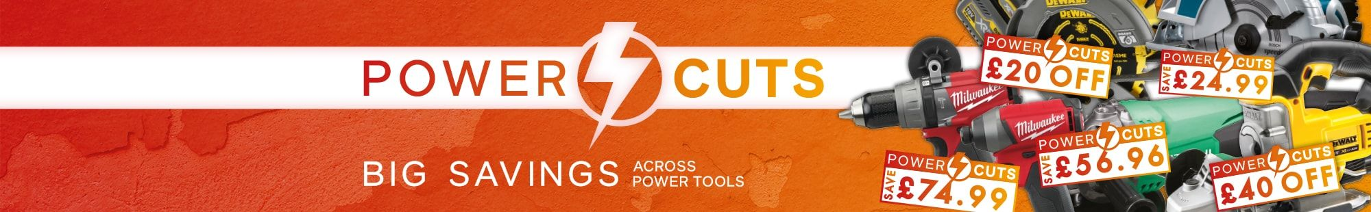 Power Tool Cuts